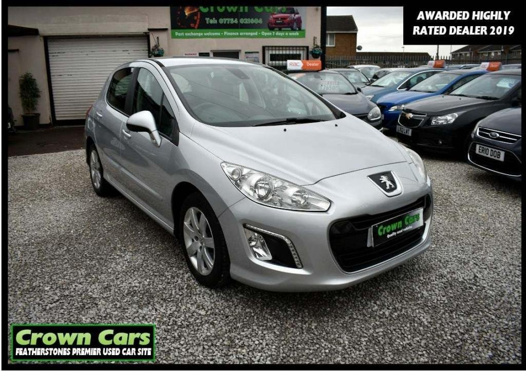 USED 2012 62 PEUGEOT 308 1.6 HDi Active 5dr 3 MONTHS WARRANTY & PDI CHECKS