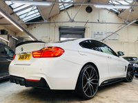 USED 2016 66 BMW 4 SERIES 2.0 420d M Sport 2dr PERFORMANCEKIT+20S+TANLEATHER!