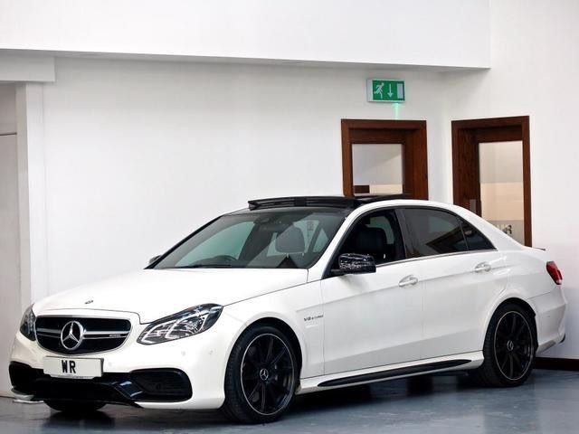 USED 2014 64 MERCEDES-BENZ E CLASS 5.5 E63 AMG MCT 4dr PAN ROOF + HK + REVERSE CAMERA