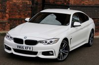 USED 2016 66 BMW 4 SERIES 3.0 435d M Sport Gran Coupe Sport Auto xDrive (s/s) 5dr MERINO LEATHER-PRONAV-HUD-H&K