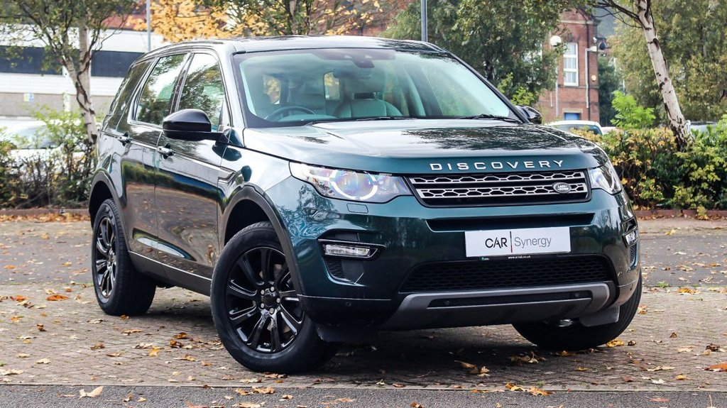 USED 2016 65 LAND ROVER DISCOVERY SPORT 2.0 TD4 SE TECH 5d 180 BHP
