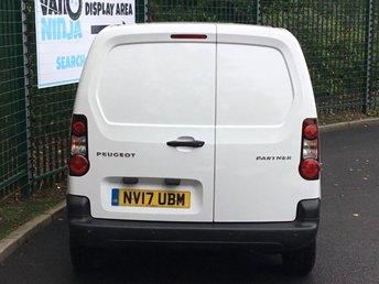 PEUGEOT PARTNER at Van Ninja