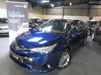 2016 TOYOTA AVENSIS 1.6 D-4D BUSINESS EDITION 5d 110 BHP £8290.00