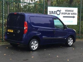 VAUXHALL COMBO LIFE at Van Ninja