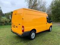 USED 2014 14 FORD TRANSIT 2.2 125BHP MWB MED ROOF L2 H2 1 OWNER