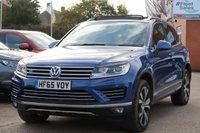 2015 VOLKSWAGEN TOUAREG 3.0 V6 R-LINE TDI BLUEMOTION TECHNOLOGY 5d AUTO 259 BHP £17995.00