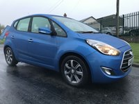 2016 HYUNDAI IX20 1.4 SE BLUE DRIVE 5 DOOR EURO 5 ONE OWNER 16000 MILES  £8495.00