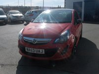 2013 VAUXHALL CORSA 1.2 LIMITED EDITION 3d 83 BHP £4750.00
