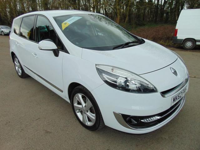 2012 62 RENAULT GRAND SCENIC 1.5 dCi Dynamique TomTom 5dr