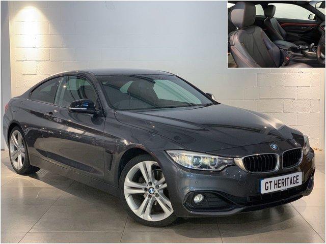 2014 14 BMW 4 SERIES 420D SPORT [PRO NAV][HTD SEATS]