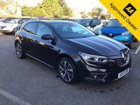 2017 RENAULT MEGANE 1.5 DYNAMIQUE S NAV DCI 5d 110 BHP IN METALLIC BLACK WITH ONLY 64000 MILES, FULL SERVICE HISTORY, GREAT SPEC AND IS ULEZ COMPLIANT £8999.00