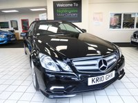 USED 2010 10 MERCEDES-BENZ E CLASS 3.0 E350 CDI BLUEEFFICIENCY SPORT 2d 231 BHP A STUNNING LOW MILEAGE E350 SPORT CDi CONVERTIBLE. HUGE SPECIFICATION, OUTSTANDING COLOUR COMBINATION, FULL MERCEDES SERVICE HISTORY