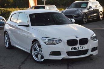 2014 BMW 1 SERIES 2.0 120d M Sport Sports Hatch (s/s) 3dr £8990.00