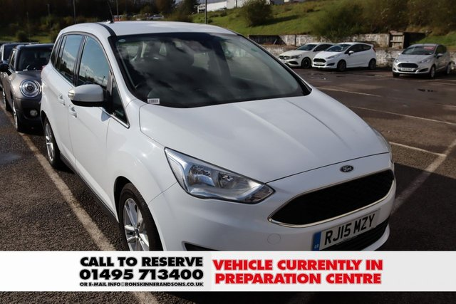 View our 2015 15 FORD GRAND C-MAX 1.5 ZETEC TDCI 5d 118 BHP