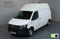 USED 2017 17 VOLKSWAGEN TRANSPORTER 2.0 T30 TRENDLINE BMT 101 BHP LWB EURO 6 ENGINE AIR CON, REAR PARKING SENSORS, DEADLOCK