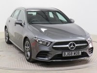 USED 2018 68 MERCEDES-BENZ A CLASS 1.3 A 200 AMG LINE 5d AUTO 161 BHP
