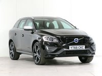 "USED 2016 66 VOLVO XC60 2.0 D4 R-Design Lux Nav 5d 188 BHP [£2,200 OPTIONS] 20"" ALLOYS  WINTER-PACK  FVSH"