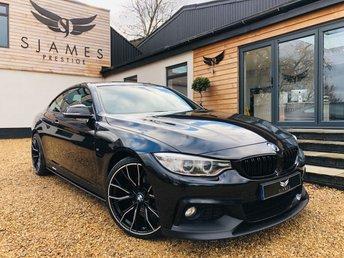 2017 BMW 4 SERIES 2.0 420D M SPORT 2d 188 BHP £18290.00