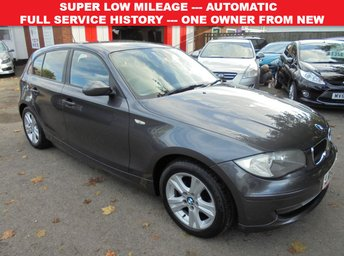 2008 BMW 1 SERIES 2.0 118I SE 5d AUTO 141 BHP £5840.00
