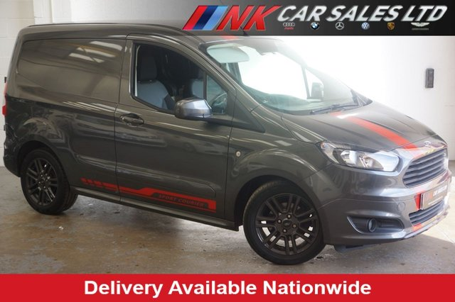 2017 17 FORD TRANSIT COURIER 1.5 SPORT TDCI 94 BHP NO VAT SOLD TO SIMON FROM STAFFORD