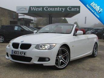 2013 BMW 3 SERIES 2.0 320D M SPORT 2d 181 BHP £13000.00