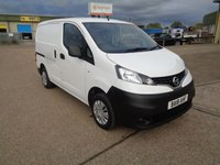 USED 2018 18 NISSAN NV200 1.5 DCI ACENTA 90 BHP