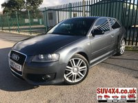 USED 2007 57 AUDI A3 2.0 S3 TFSI QUATTRO 3d 262 BHP PRIVACY CRUISE ALLOYS CLIMATE BODYKIT. SATELLITE NAVIGATION. STUNNING GREY MET WITH FULL BLACK SPORT LEATHER TRIM. HEATED SEATS. CRUISE CONTROL. 18 INCH ALLOYS. COLOUR CODED TRIMS. PARKING SENSORS. BLUETOOTH PREP. CLIMATE CONTROL. TRIP COMPUTER. R/CD/MP3 PLAYER. MFSW. MOT 02/20. SUV4X4 USED CAR CENTRE LS23 7FQ. TEL 01937 849492 OPTION 2