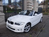 USED 2011 11 BMW 1 SERIES 2.0 118I SPORT 2d AUTO 141 BHP *FINANCE ARRANGED*PART EXCHANGE WELCOME*1 OWNER*ELEC ROOF*BTOOTH*DAB*BMW SERVICE HISTORY*CRUISE*F+R PS