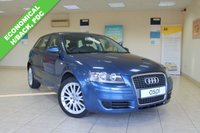 USED 2007 56 AUDI A3 2.0 FSI SE 5d 148 BHP BLACK INTERIOR, CLIMATE CONTROL, REAR PARKING SENSORS, AUTOMATIC, ECONOMICAL HATCHBACK