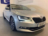 2016 SKODA SUPERB 2.0L LAURIN AND KLEMENT TDI DSG 5d 188 BHP £12999.00