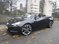 USED 2017 67 VAUXHALL CASCADA 2.0 ELITE CDTI S/S 2d 170 BHP *FINANCE ARRANGED*PART EXCHANGE WELCOME*1 OWNER*LEATHER*REAR PS*CRUISE*ON STAR*HEATED SEATS*ELEC ROOF*A/C