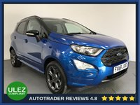 USED 2019 68 FORD ECOSPORT 1.0 ST-LINE 5d AUTO 124 BHP FULL HISTORY - 1 OWNER - LOW MILES - SAT NAV - CAMERA - REAR SENSORS - HALF LEATHER - DAB - CRUISE - PRIVACY