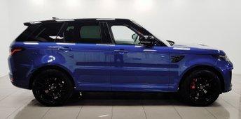 2018 LAND ROVER RANGE ROVER SPORT 5.0 SVR 5d AUTO 567 BHP £89950.00