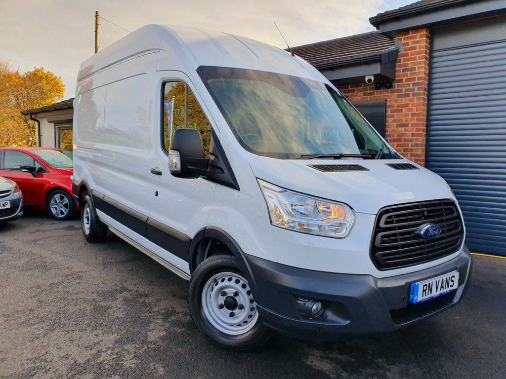 USED 2016 16 FORD TRANSIT 2.2 350 L3 H3 FWD P/V 124 BHP *** FRONT AND REAR SENSORS ***