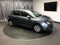 USED 2013 13 SEAT IBIZA 1.2 TSI SE DSG 5d AUTO 104 BHP FREE UK DELIVERY, AIR CONDITIONING, AUX INPUT, CLIMATE CONTROL, CLOTH UPHOLSTERY, CRUISE CONTROL, HILL HOLD CONTROLS, STEERING WHEEL CONTROLS, TRIP COMPUTER