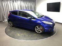 USED 2013 13 FORD FIESTA 1.6 ST-2 3d 180 BHP FREE UK DELIVERY, AUX INPUT, BLUETOOTH CONNECTIVITY, CLIMATE CONTROL, CRUISE CONTROL, DAB RADIO, DAYTIME RUNNING LIGHTS, HEATED SEATS, QUICK CLEAR HEATED WINDSCREEN, STEERING WHEEL CONTROLS, TRIP COMPUTER