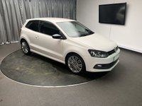 USED 2013 13 VOLKSWAGEN POLO 1.4 BLUEGT DSG 3d AUTO 140 BHP FREE UK DELIVERY, AIR CONDITIONING, CLIMATE CONTROL, CRUISE CONTROL, DAB RADIO, GEARSHIFT PADDLES, HEATED SEATS, TRIP COMPUTER