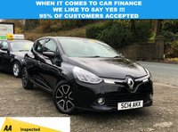 USED 2014 14 RENAULT CLIO 1.1 DYNAMIQUE MEDIANAV 5d 75 BHP LONG MOT UNTIL 10/2020, FULL SERVICE HISTORY, 5 STAMPS IN THE BOOK, READY TO BE DRIVEN AWAY TODAY! CRUISE CONTROL, SAT NAV, REAR PARKING SENSORS, BLUETOOTH