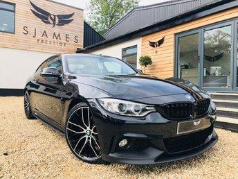 2016 BMW 4 SERIES 2.0 420D M SPORT 2d 188 BHP £19990.00