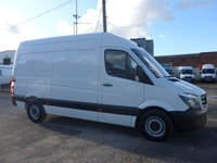 USED 2017 17 MERCEDES-BENZ SPRINTER 314CDI MWB, 140 BHP [EURO 6], LOW MILES