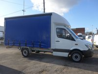2014 MERCEDES-BENZ SPRINTER 313 CDI MWB AUTOMATIC CURTAIN SIDER, 130 BHP [EURO 5] £12495.00
