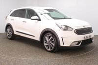 USED 2016 66 KIA NIRO 1.6 3 5DR AUTO SAT NAV HEATED LEATHER SEATS 1 OWNER 104 BHP FULL SERVICE HISTORY + £10 12 MONTHS ROAD TAX + HEATED LEATHER SEATS + SATELLITE NAVIGATION + REVERSE CAMERA + PARKING SENSOR + BLUETOOTH + CLRUISE CONTROL + CLIMATE CONTROL + MULTI FUNCTION WHEEL + JBL PREMIUM SPEAKERS + ELECTRIC SEATS + DAB RADIO + PRIVACY GLASS + XENON HEADLIGHTS + RADIO/CD/AUX/USB + ELECTRIC WINDOWS + ELECTRIC MIRRORS + 18 INCH ALLOY WHEELS