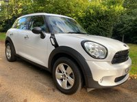 2016 MINI COUNTRYMAN 1.6 ONE 5d 98 BHP