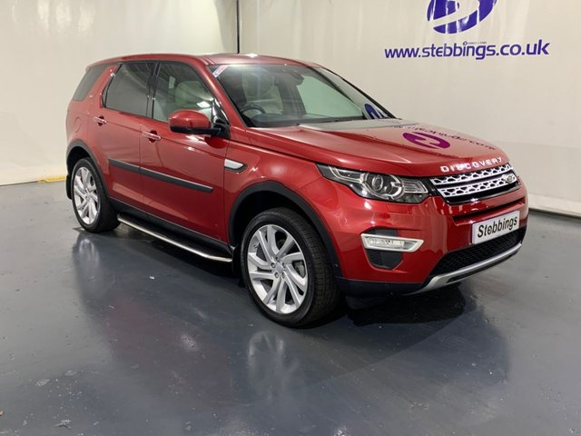 2015 65 LAND ROVER DISCOVERY SPORT 2.0 TD4 HSE LUXURY 5d 180 BHP 7 SEATS, AUTOMATIC