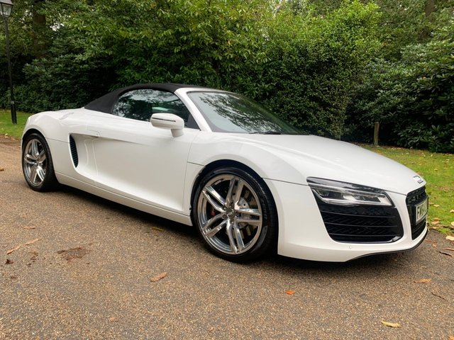 View our AUDI R8