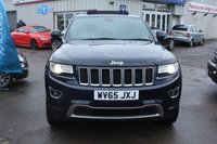 USED 2015 65 JEEP GRAND CHEROKEE 3.0 V6 CRD OVERLAND 5d AUTO 247 BHP