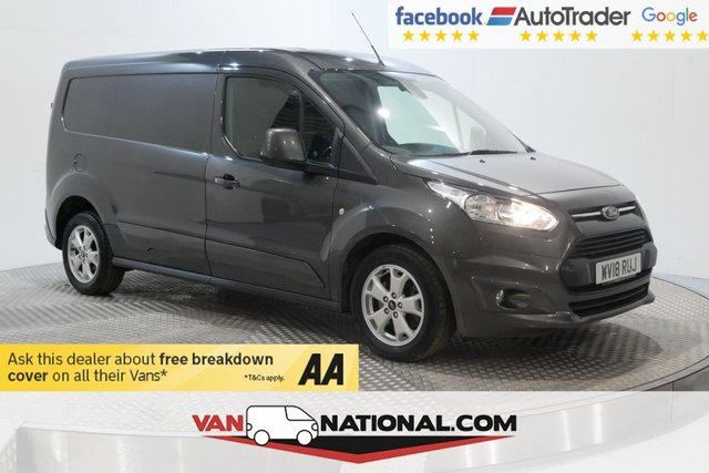 USED 2018 18 FORD TRANSIT CONNECT 1.5 240 LIMITED P/V 120 BHP L2 H1 (LWB AIR CON ALLOYS)