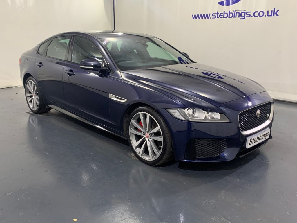 "USED 2015 65 JAGUAR XF 3.0 V6 S 4d 296 BHP SAT NAV, LEATHER, POWER FRONT SEATS HEATED FRONT AND REAR, COLOUR TOUCHSCREEN MEDIA INTERFACE, DAB RADIO, IN CONTROL APPS, WIFI HOTSPOT, KEYLESS ENTRY AND START, LANE DEPARTURE WARNING, XENON HEADLIGHTS, AUTO LIGHTS AND WIPERS, DUAL ZONE CLIMATE CONTROL, CRUISE CONTROL, FRONT AND REAR PARKING AID, 20"" ALLOYS"