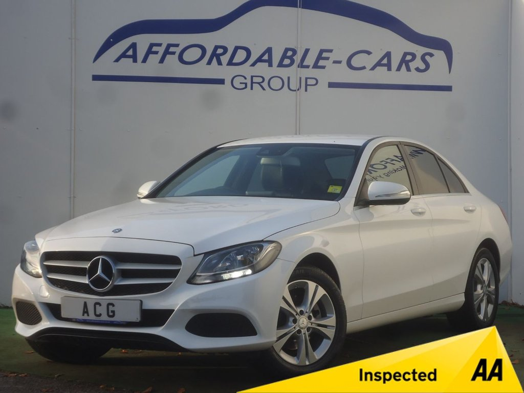 USED 2015 15 MERCEDES-BENZ C-CLASS 2.1 C220 BLUETEC SE EXECUTIVE 4d 170 BHP