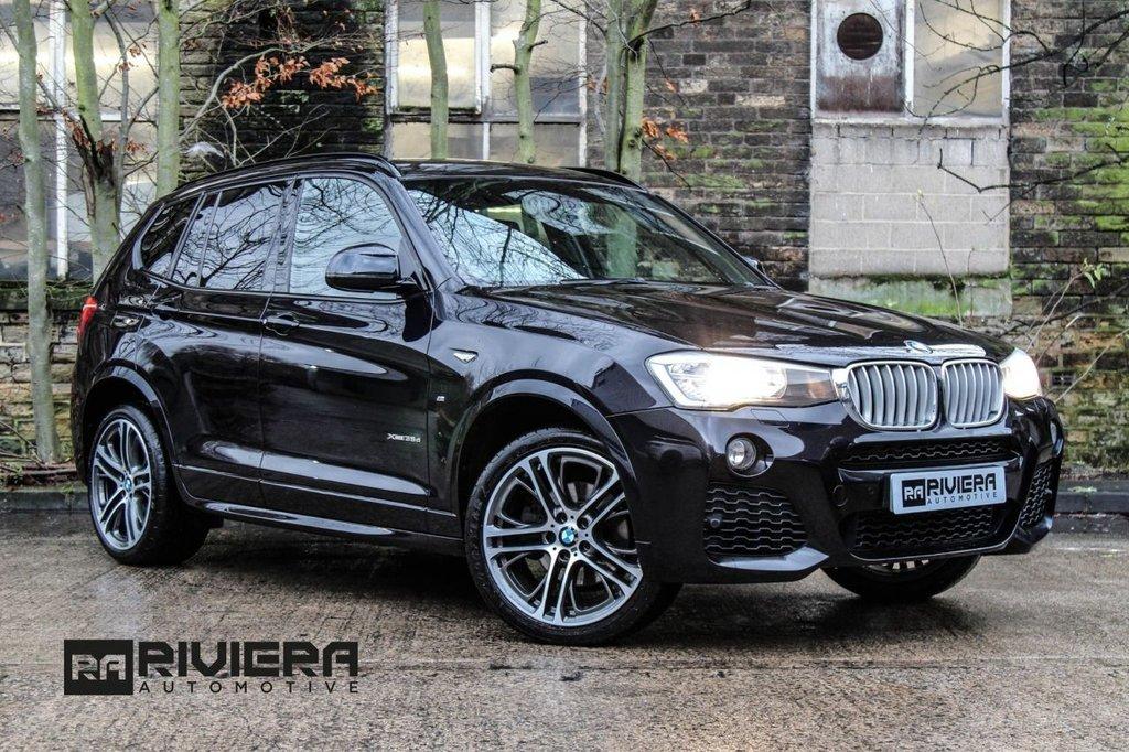 USED 2015 15 BMW X3 3.0 XDRIVE35D M SPORT 5d AUTO 309 BHP